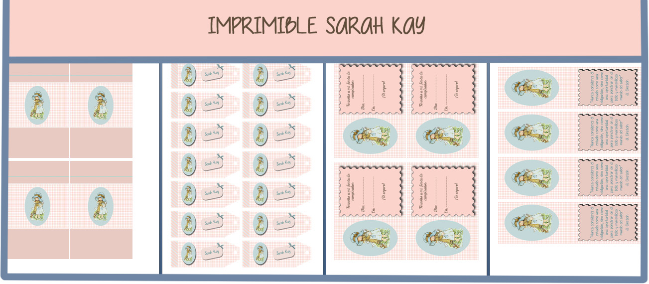 IMPRIMIBLE GRATUITO SARAH KAY | Entre Fogones y Artilugios Varios