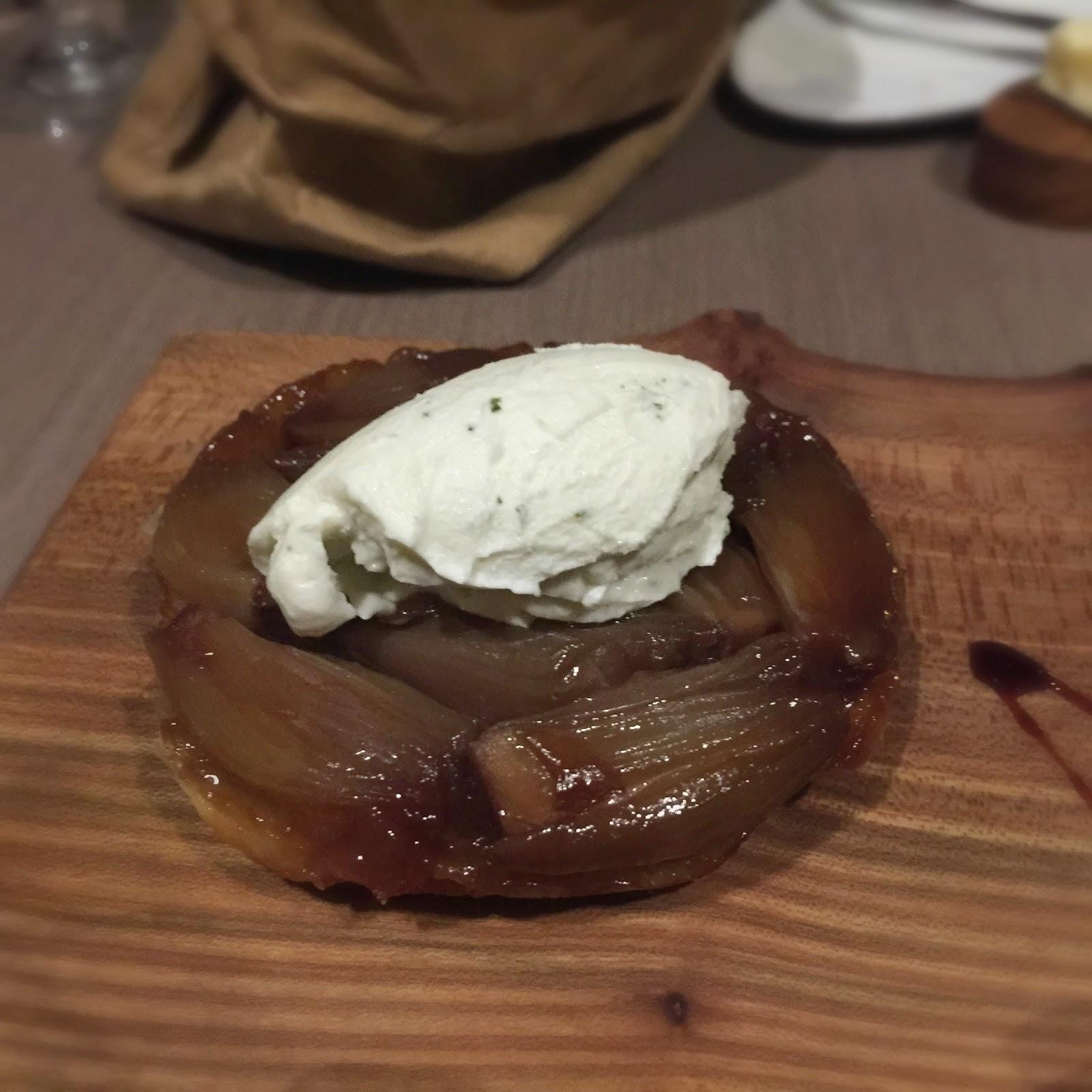 Skygarden Onion Tart