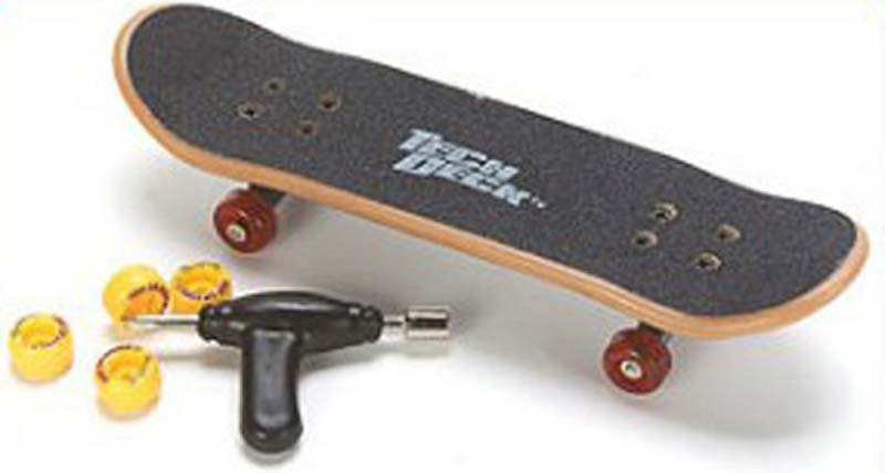 Skate Longboard Bmx Tech Deck By Steven And Fabricio