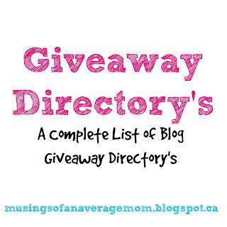 http://musingsofanaveragemom.blogspot.com/2015/05/giveaway-directory.html