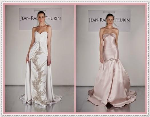 Jean-Ralph Thurin Frühjahr Brautkleider 2015