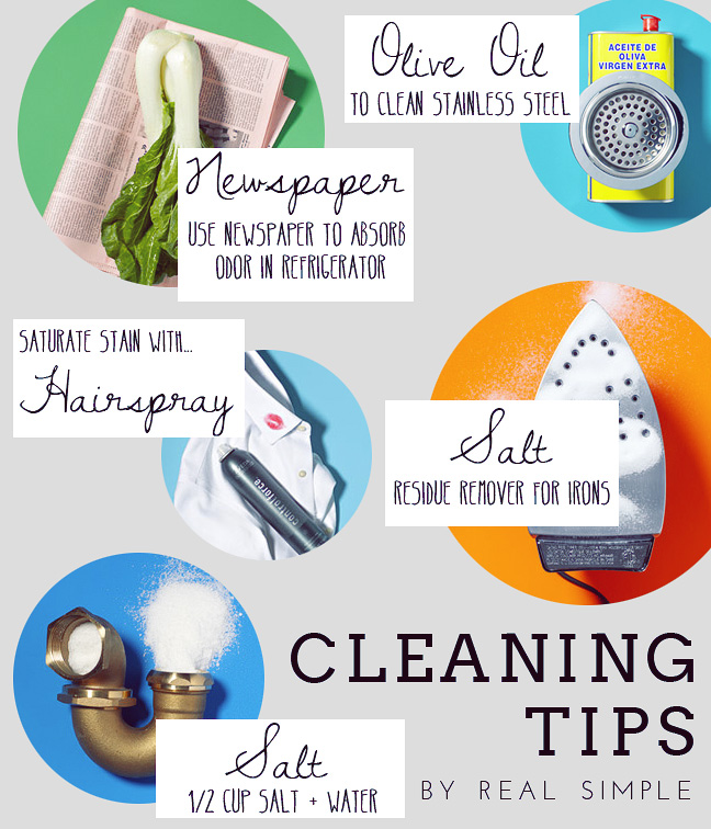 #diy #cleaning #real simple #tips #home remedies