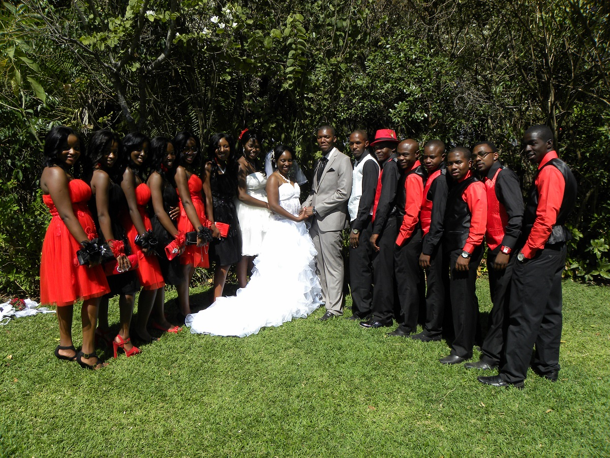 Samantha ngara and kenny samillans wedding wedding bells stopboris Choice Image