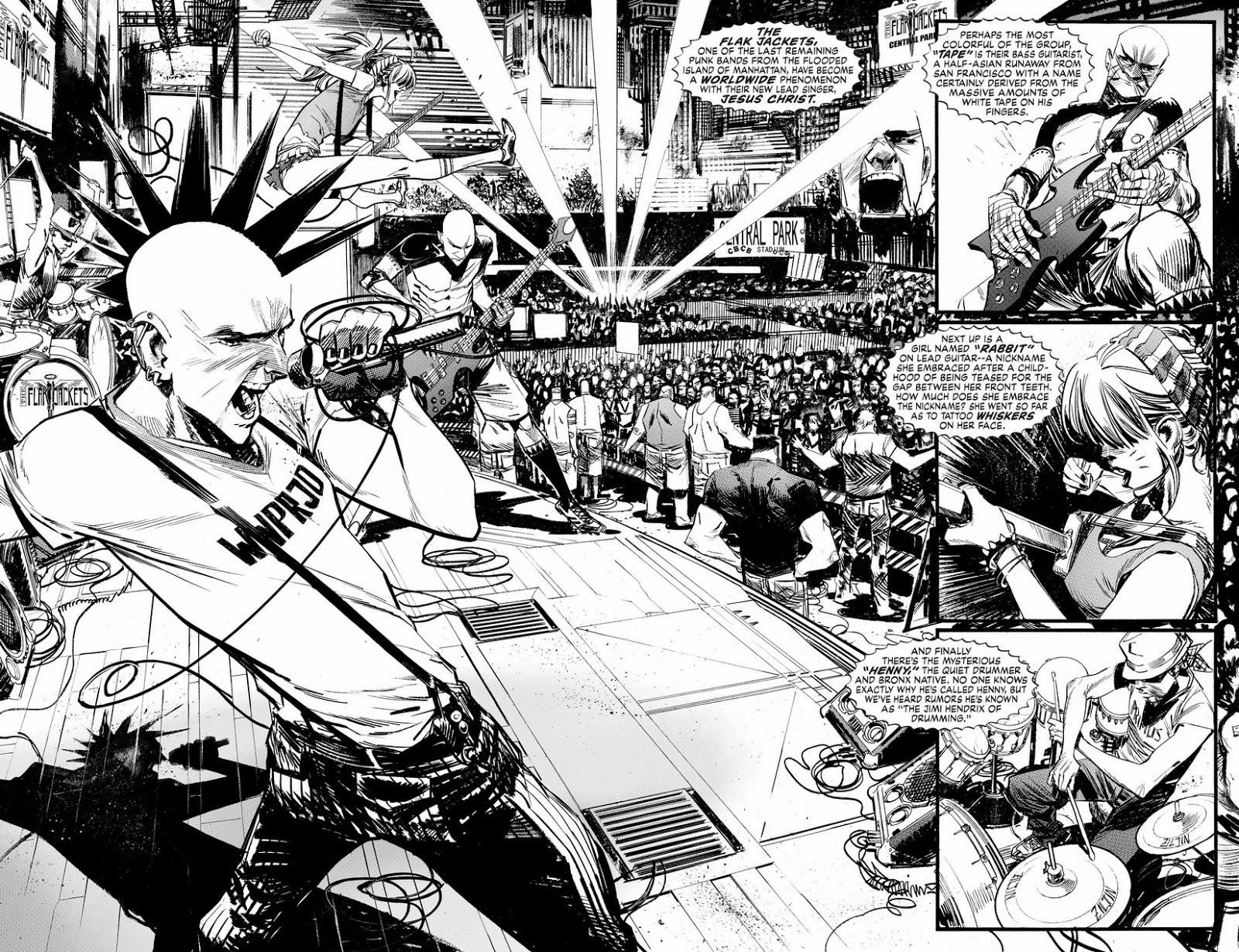 punk rock jesus comic
