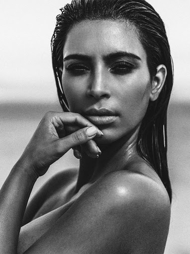 Kim Kardashian topless photo shoot C Magazine September 2015