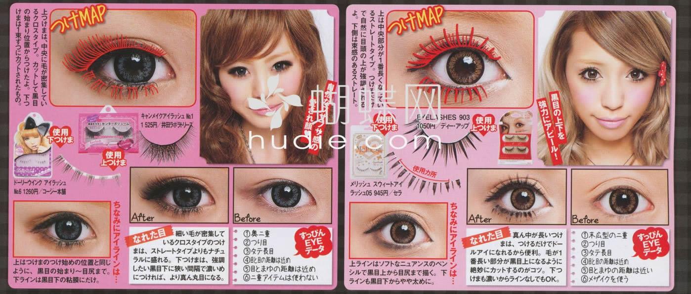 Type of Fake Eyelashes on