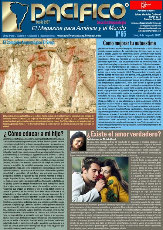 Revista Pacífico Nº 65 Arqueología