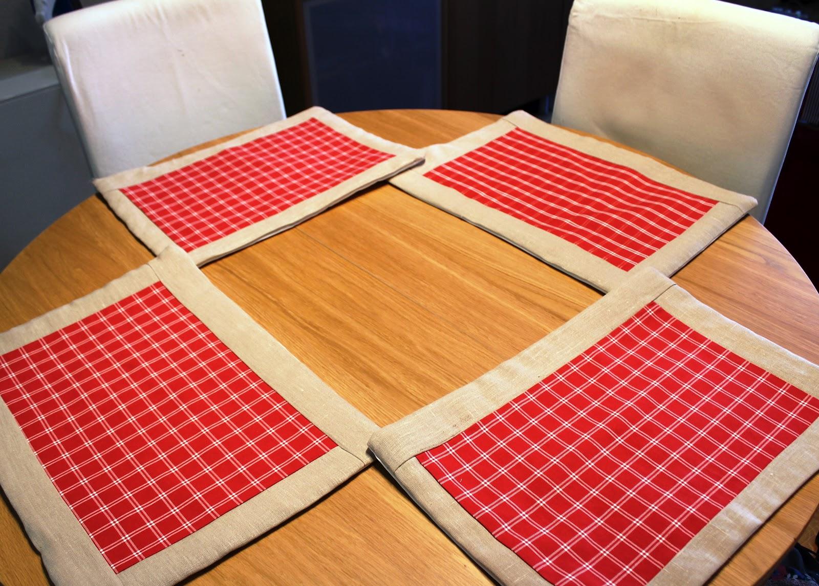 El taller de anitadinamita mantelitos ii for Tela para manteles de mesa