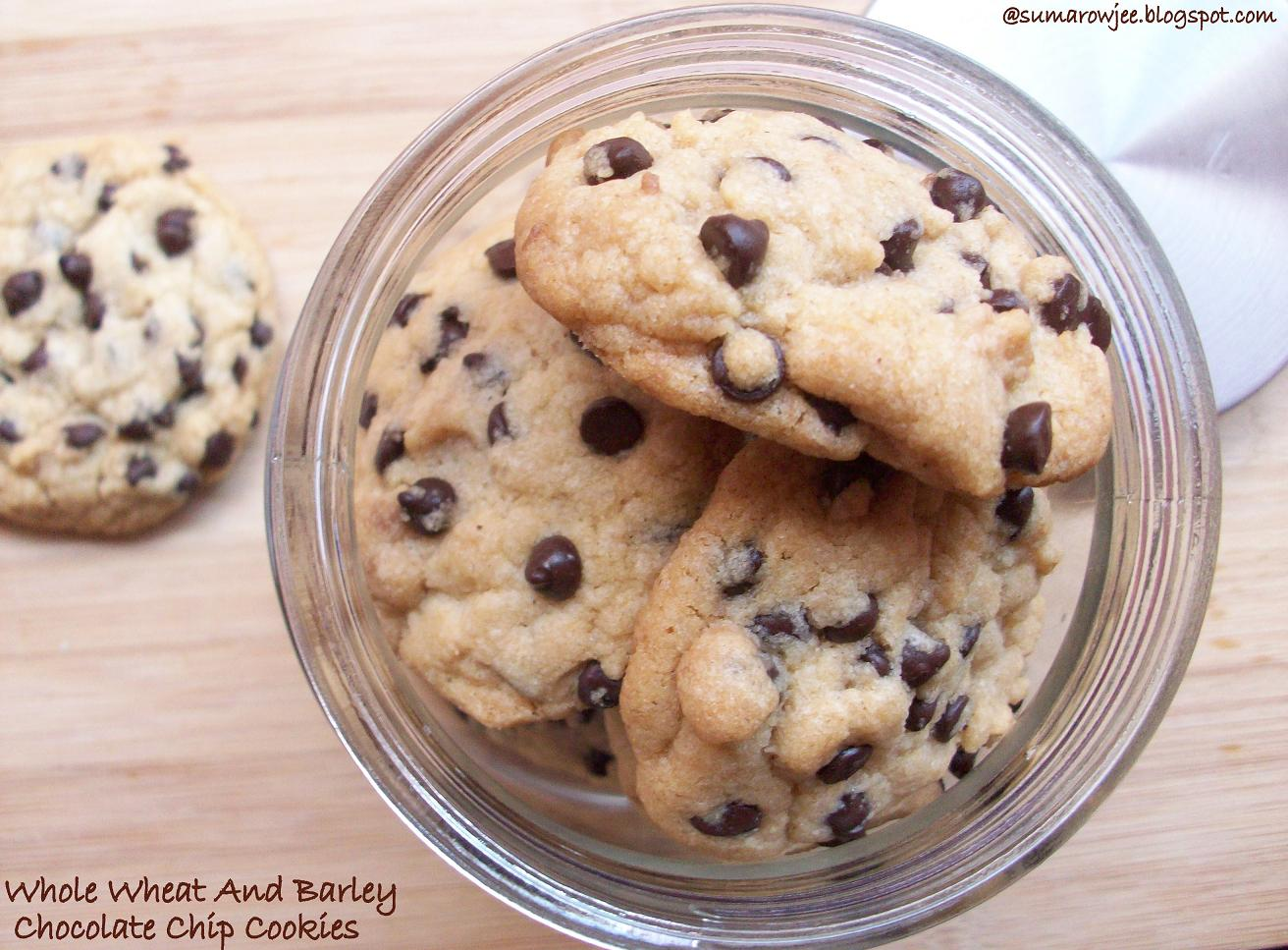 ... And More!: Crunchy, Whole Wheat And Barley Chocolate Chip Cookies