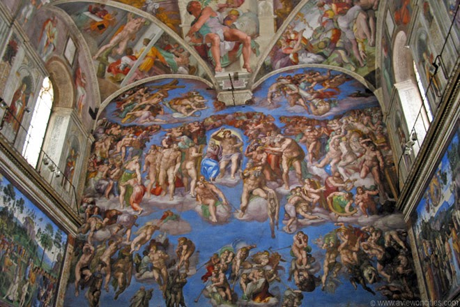 The-Last-Judgment-by-Michel-Angelo-Sistine-Chapel