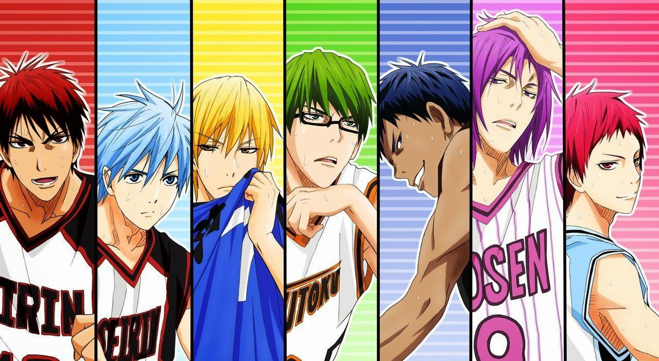 Kuroko No Basket 3° Temporada + OVAs + Especiales + Ng-shuu [MF]