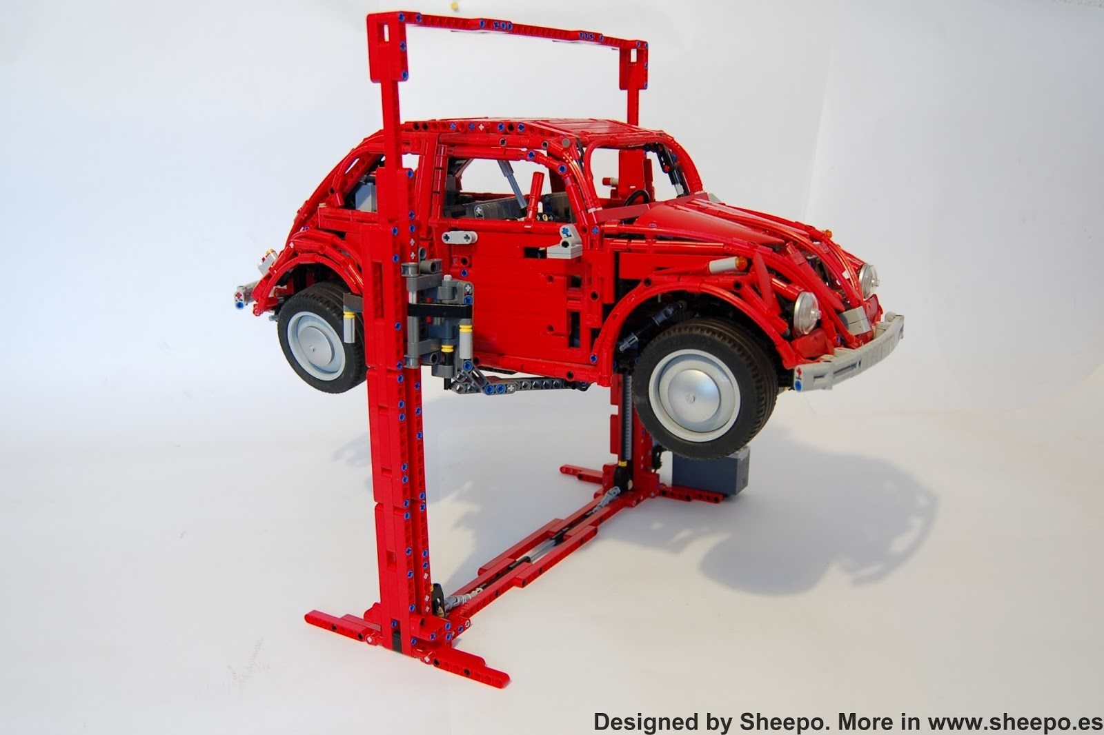 Sheepo/'s Lego Technic Custom Volkswagen Beetle /'67 RC ONLY INSTRUCTIONS!!