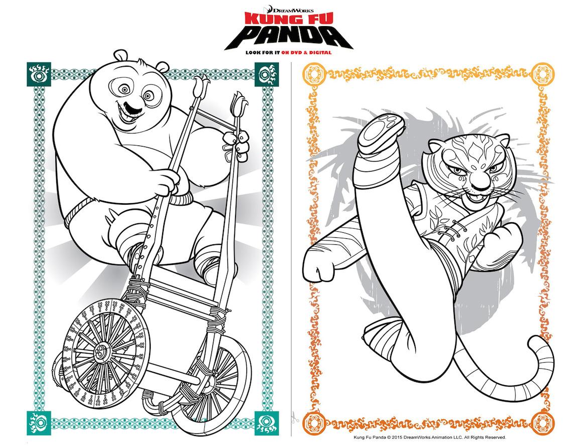 Free coloring pages kung fu panda - Kung Fu Panda Party Ideas Free Printable Chinese Take Out Box Movie Set Giveaway Any Tots