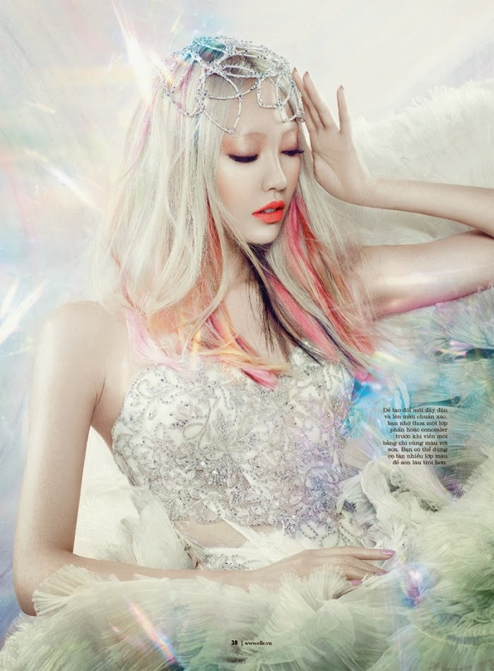 SOO JOO IS A MANGA BEAUTY FOR ELLE VIETNAM OCTOBER 2013