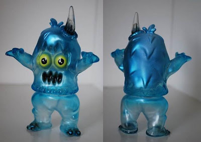 Tenacious Toys x Rampage Toys New York Comic-Con 2011 Exclusive Clear Ugly Unicorn with Metallic Spray