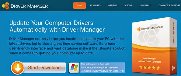 Driver Manager for easy device driver control