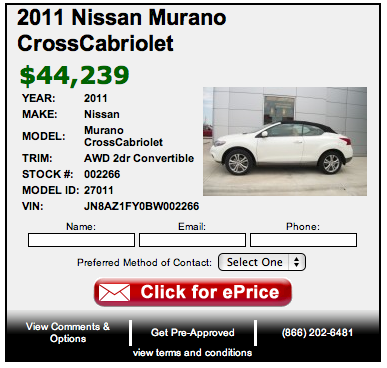 Orr Nissan Of Greenville Offers A Full Stock Of Nissans. Each Week We Have  Deals On Different Cars So I Wanted To Share A Few Of This Weeks Specials,  ...