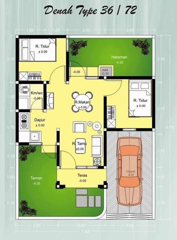 Gambar Desain Rumah Minimalis Modern 36