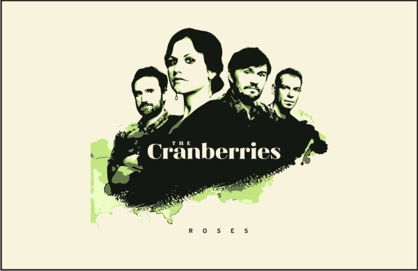 the_cranberries-roses_front_vector