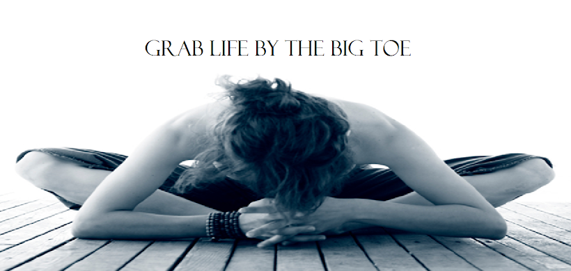 GRAB LIFE BY THE BIG TOE