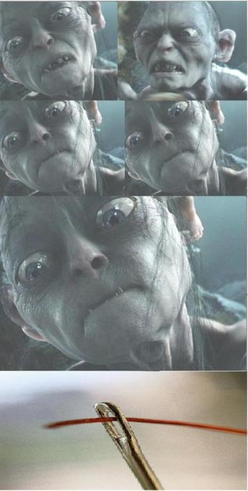 Serious Gollum Is Serious
