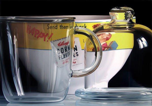 tea mug painting
