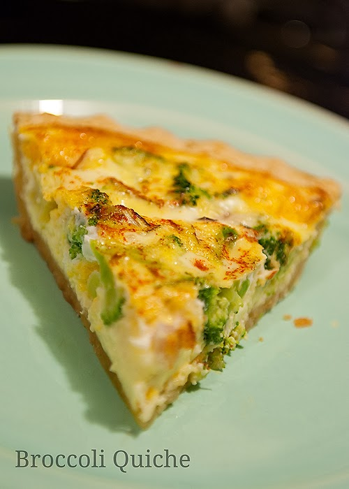 The Hippy Home: Cooking with Kids: Broccoli Cheese Quiche