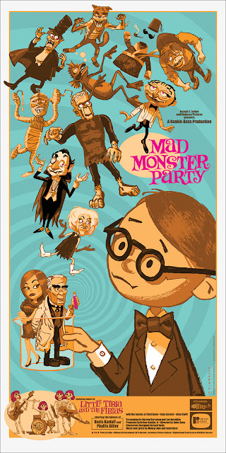 Mad Monster Party Screen Print by Mark Chiarello & Mondo