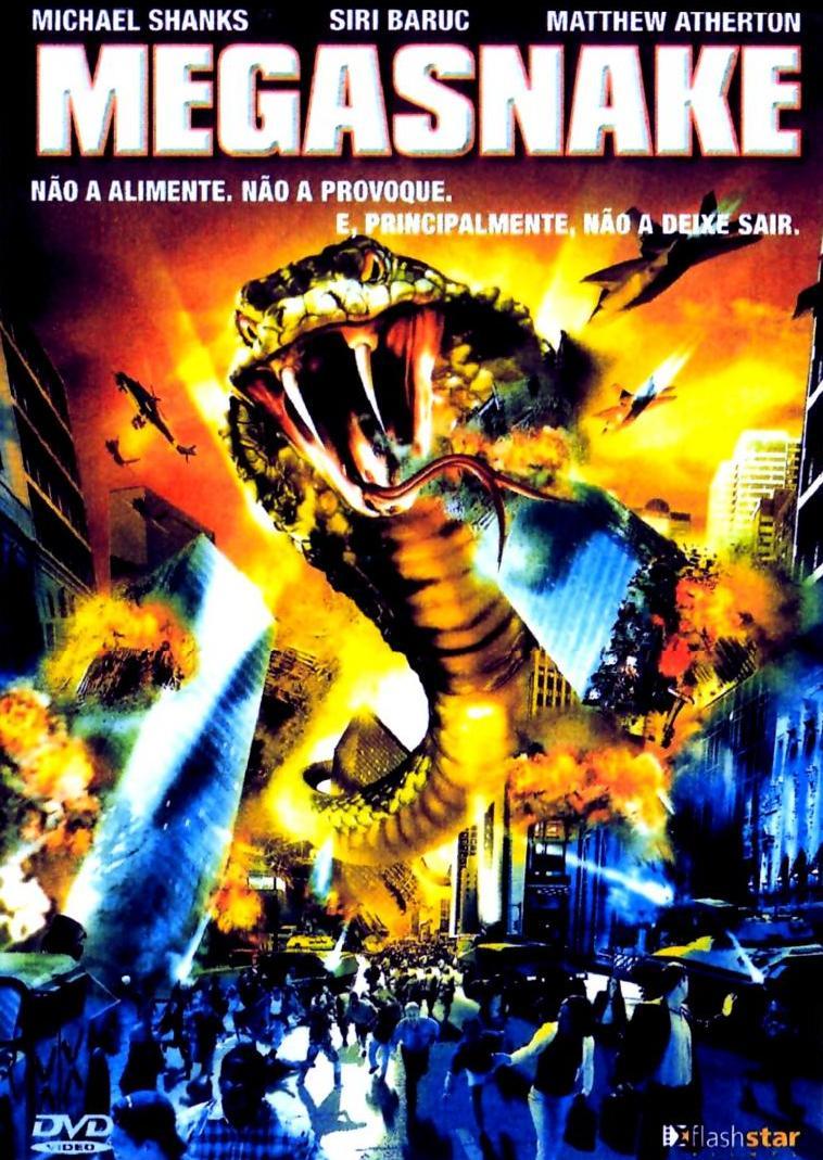 Filme Mega Snake   Dublado