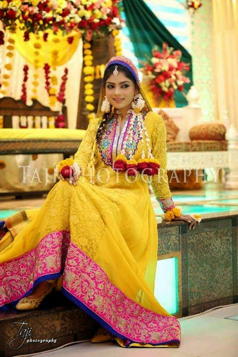 Bridal Mehndi Collection : Bridal mehndi dresses collection  lifestyle