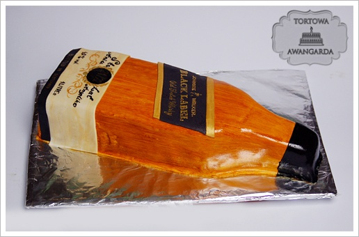 Tort Whisky | Warszawa torty na zamówienie