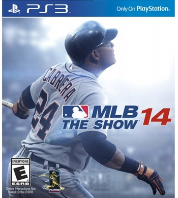 MLB 14 The Show PlayStation 3 Region USA
