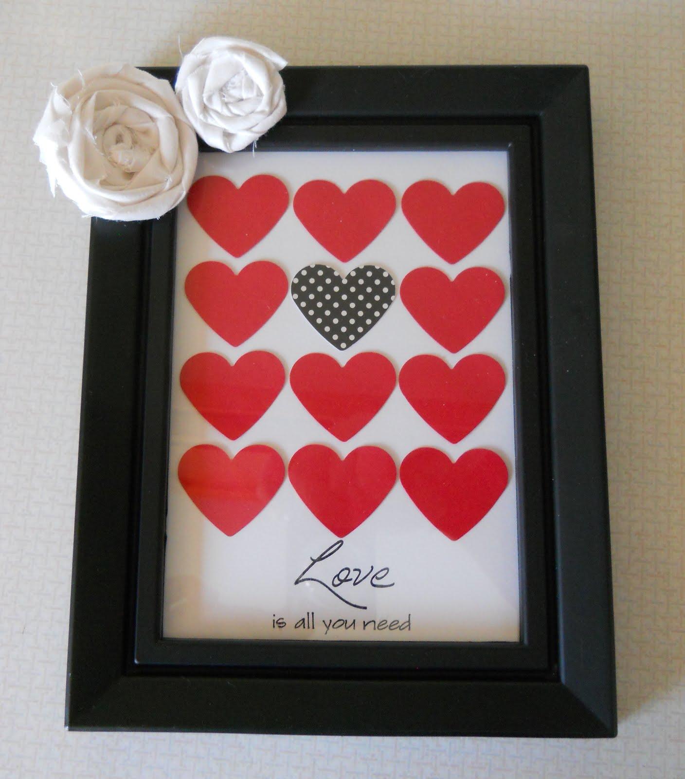 Dandelions and Dust Bunnies: Framed Heart Specimen Art