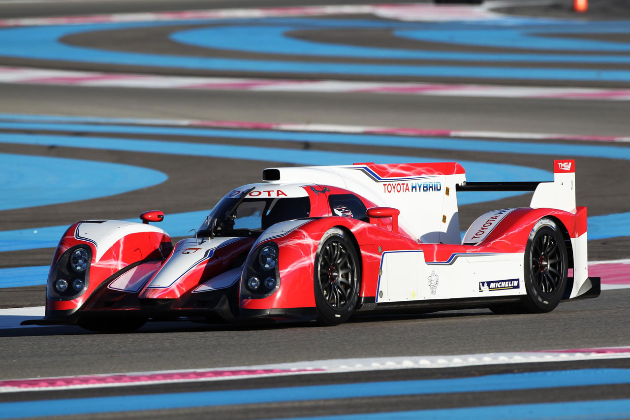Toyota Racing Unveils 2012 TS030 HYBRID Le Mans Race Car