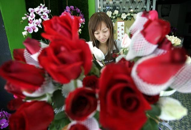 Valentine's Day Flowers film in Malaysia