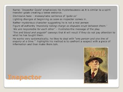 an inspector calls gcse essays