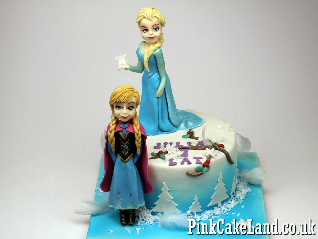 Frozen Birthday Cakes in London Childrens Birthday Cakes in London