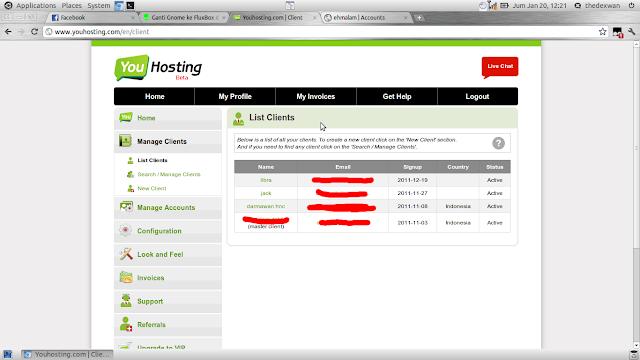 membuat web hosting sendiri