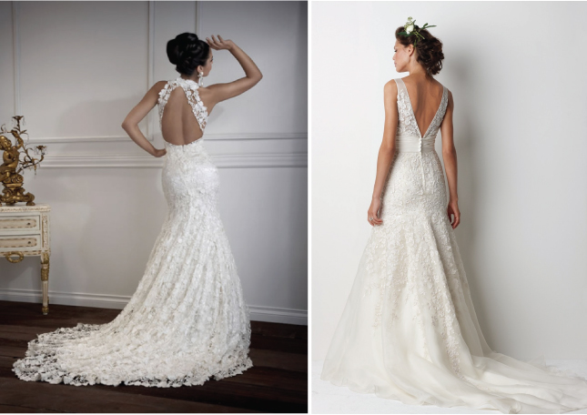Lace Back Wedding Dresses Part 2