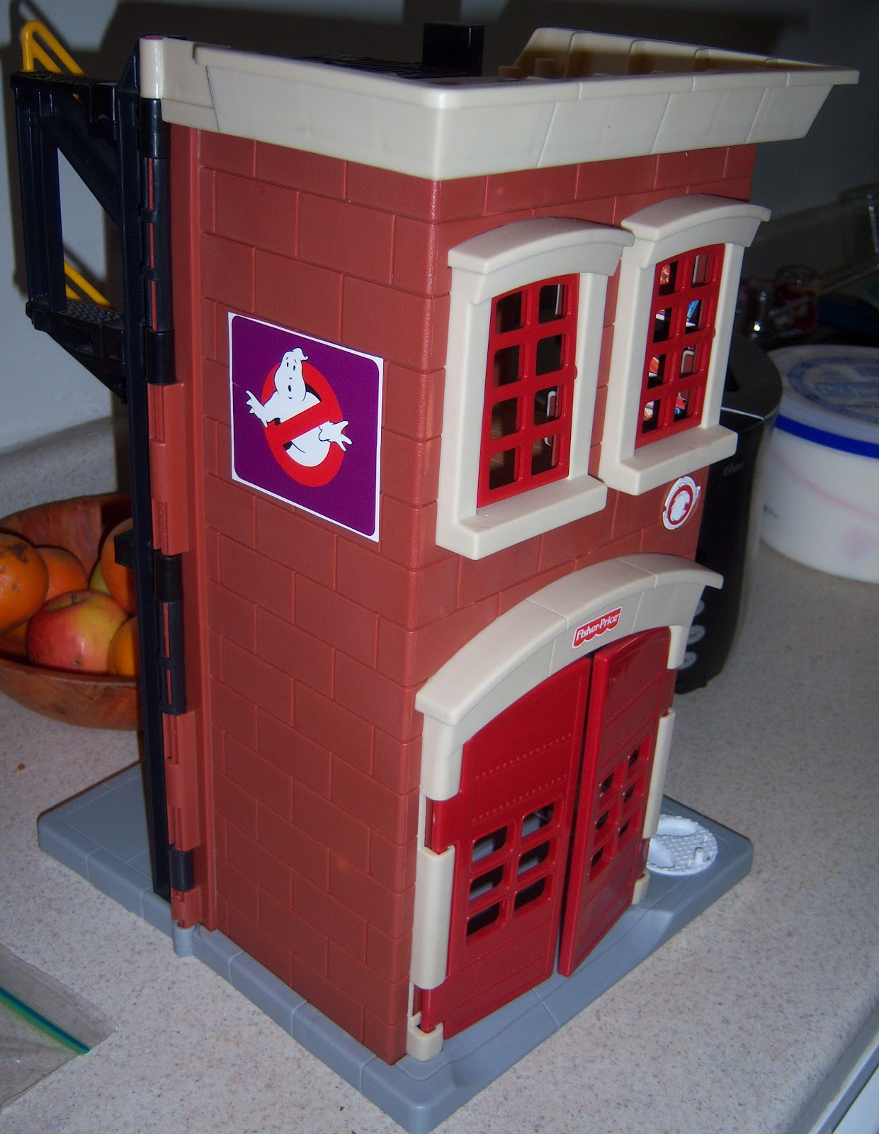 imaginext firehouse playset