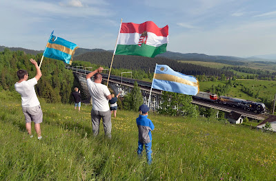 Románia, magyarság, Nyárádszereda, székely zászló, nemzeti szimbólumok,