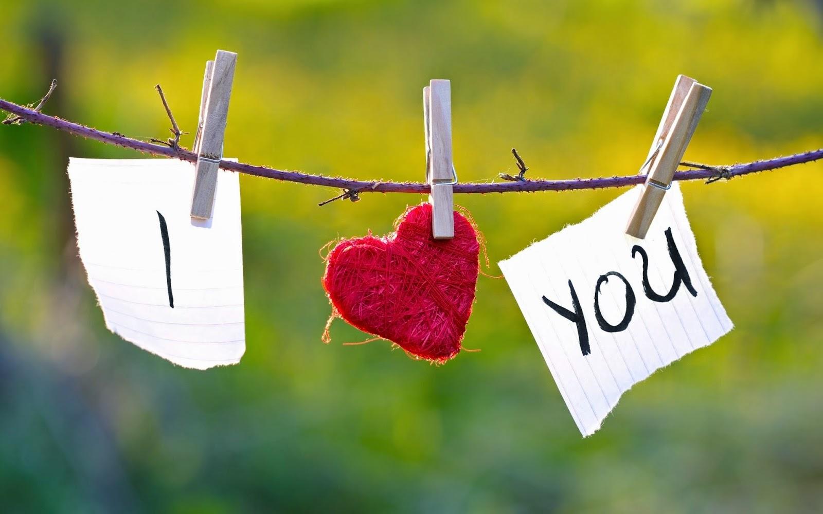 Gambar Cinta Ucapan I Love U Aku Cinta Kamu