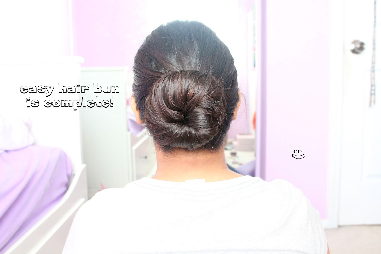 Vanessa Jhoy Blog: Easy Hair Bun Tutorial