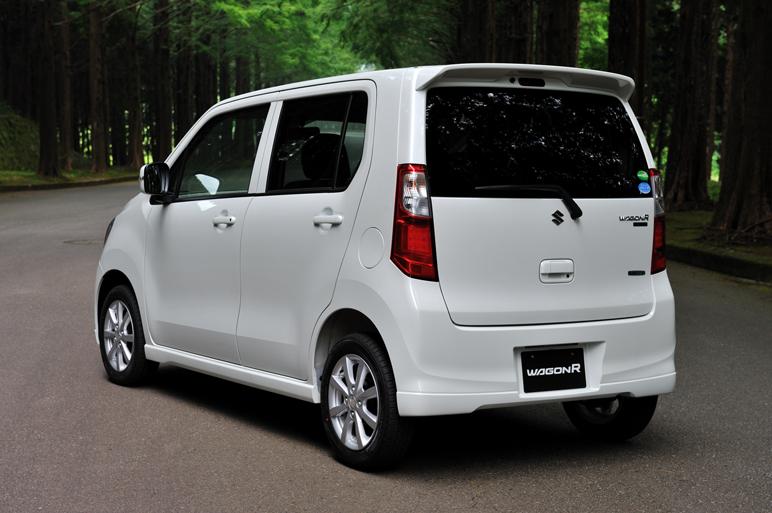 2013 Suzuki Wagon R Debuts In Japan