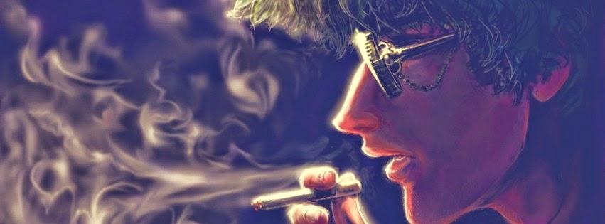 Ảnh bìa hút thuốc cho Facebook đẹp chất cho nam và nữ