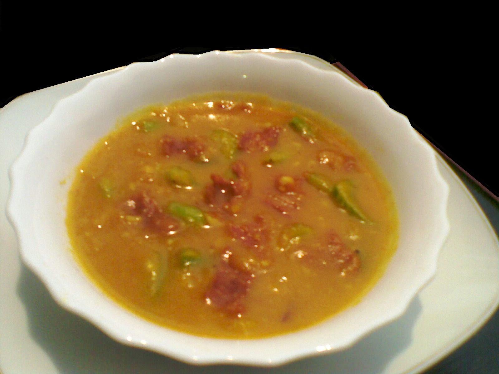 Hangat dan Ketalnya Sup Kental Ubi