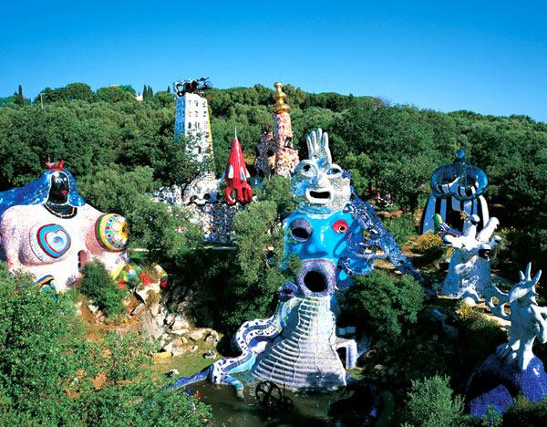 construir gruta jardim : construir gruta jardim:Niki De Saint Phalle Tarot Garden