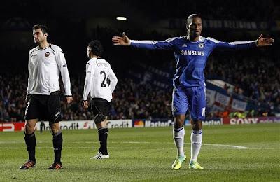 Chelsea 3 - 0 Valencia (1)