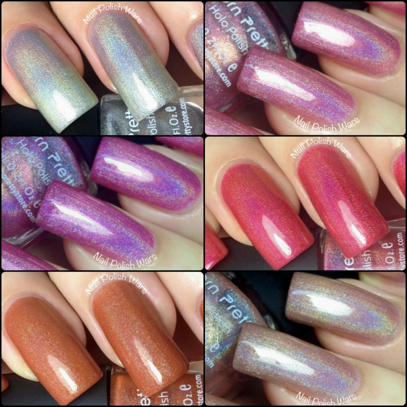Nail Polish Wars: Born Pretty Holo Polish Swatch & Review