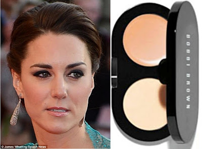 be0084898a1 The Duchess of Cambridge, pictured last month, has been sporting the eyebrow  style made popular by the women on reality show Desperate Scousewives